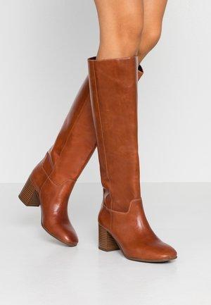 NICOLE - Høje støvler/ Støvler - cinnamon