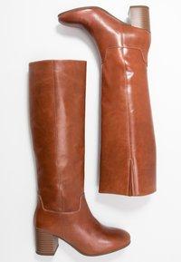 Vagabond - NICOLE - Høje støvler/ Støvler - cinnamon - 3