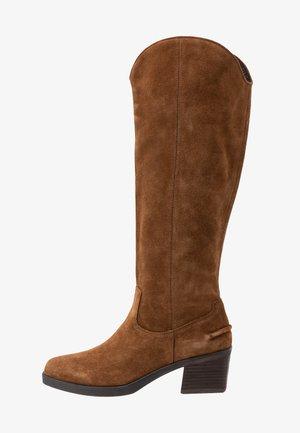 SIMONE - Cowboystøvler - cognac