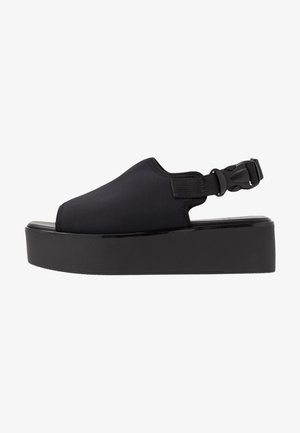 BONNIE - Plateausandalette - black
