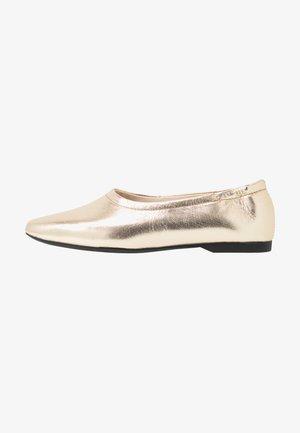 MADDIE - Ballet pumps - gold
