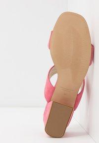 Vagabond - ELENA - Pantofle na podpatku - candy pink - 6
