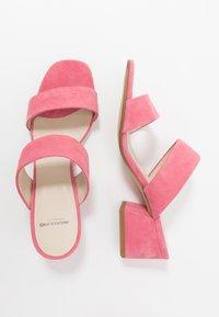 Vagabond - ELENA - Pantofle na podpatku - candy pink - 3