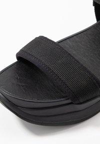Vagabond - LORI - Korkeakorkoiset sandaalit - black - 2