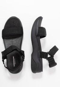 Vagabond - LORI - Korkeakorkoiset sandaalit - black - 3