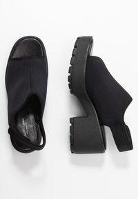 Vagabond - DIOON - Korkeakorkoiset sandaalit - black - 3