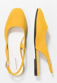 Vagabond - AYDEN - Ballerines - yellow - 3