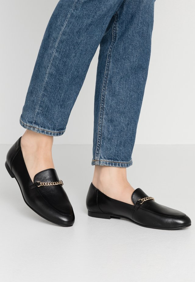 ELIZA - Loaferit/pistokkaat - black