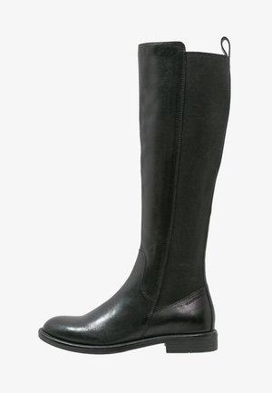 AMINA - Vysoká obuv - black