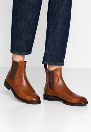 AMINA - Classic ankle boots - cognac