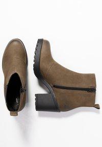 Vagabond - GRACE - Ankle Boot - dark olive - 3
