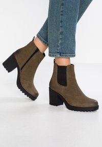 Vagabond - GRACE - Ankle Boot - dark olive - 0