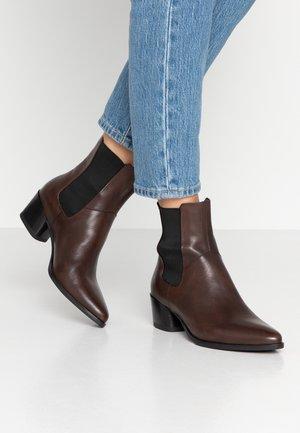 LARA - Kotníkové boty - espresso