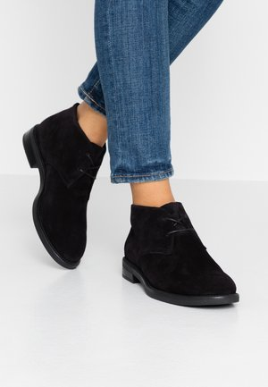 AMINA - Casual lace-ups - black
