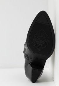 Vagabond - EMILY - Kovbojské/motorkářské boty - black - 6