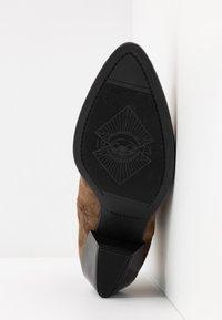Vagabond - EMILY - Kovbojské/motorkářské boty - taupe - 6