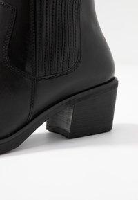 Vagabond - SIMONE - Cowboy/biker ankle boot - black - 2