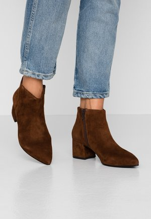 MYA - Boots à talons - brown