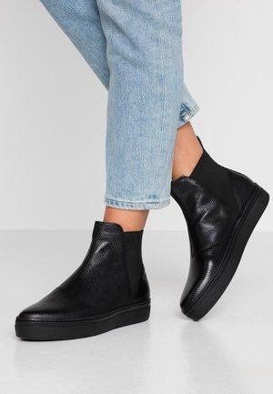 CAMILLE - Boots à talons - black