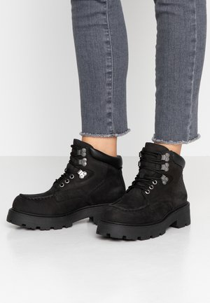 COSMO - Korte laarzen - black