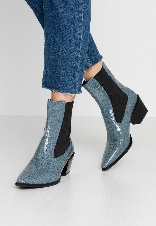 Korte laarzen - dusty blue