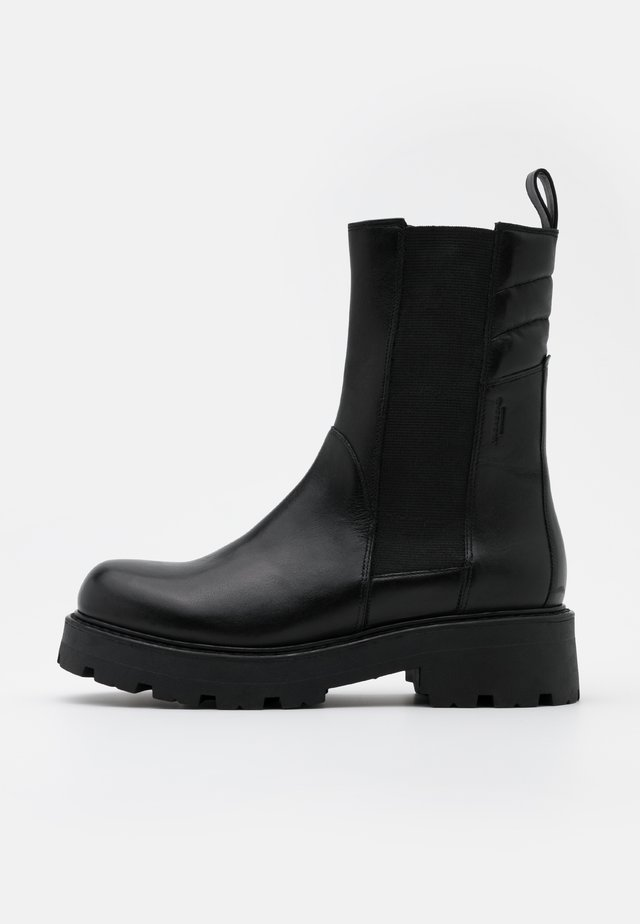 COSMO - Plateaustiefelette - black