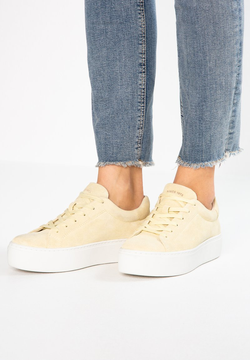 Vagabond - JESSIE - Trainers - light yellow