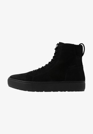 BREE - High-top trainers - black