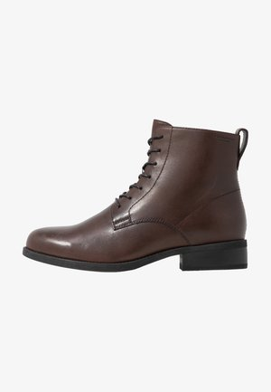 CARY - Bottines à lacets - espresso