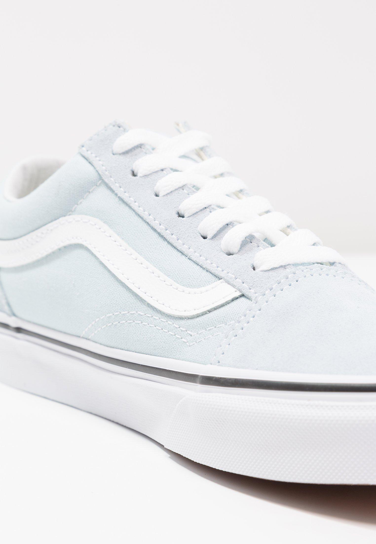Vans OLD SKOOL Baskets basses baby bluetrue white