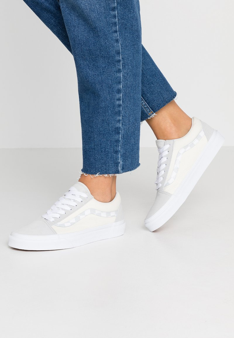 Vans - OLD SKOOL - Sneaker low - glacier gray/marshmallow/true white