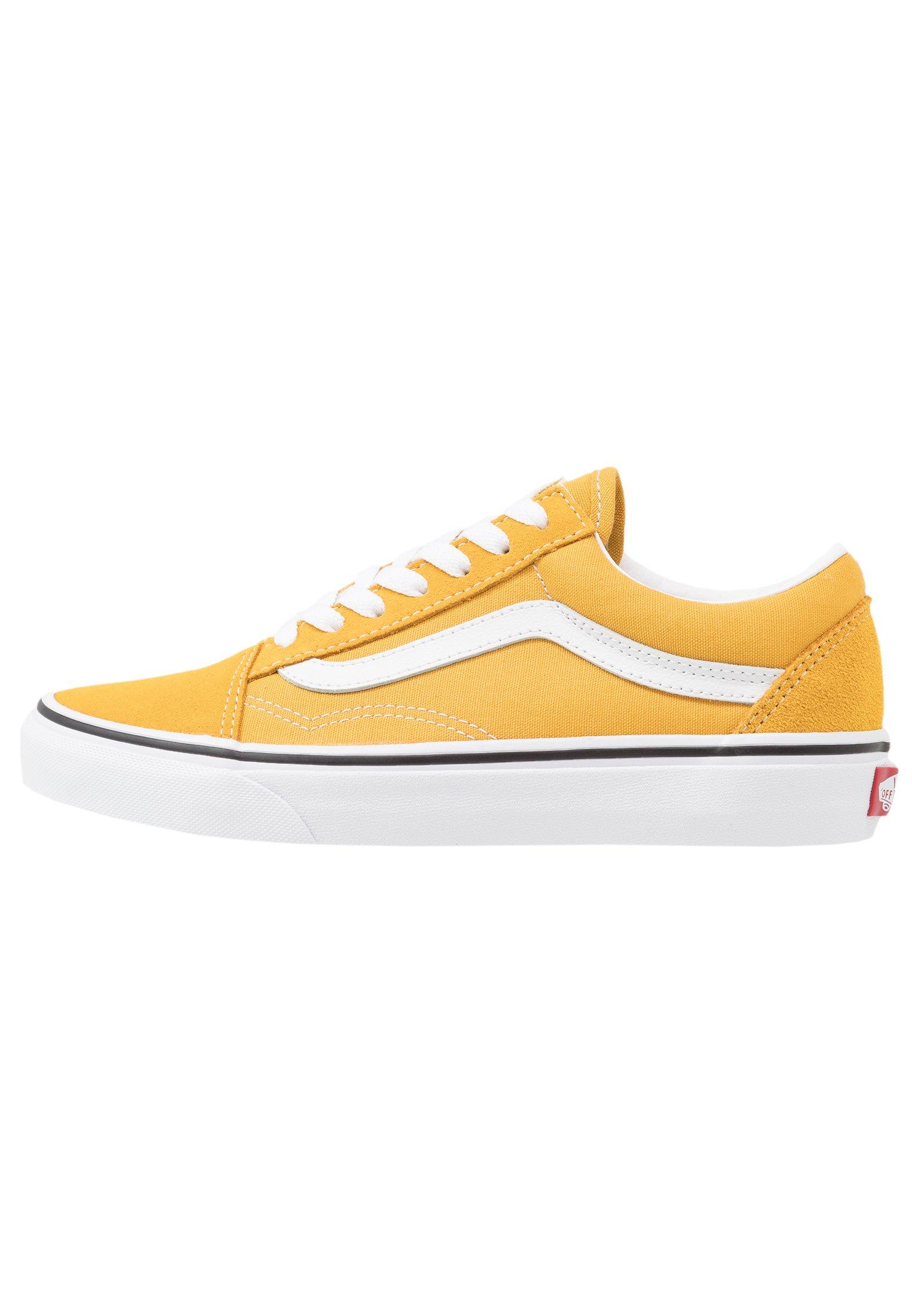 OLD SKOOL Sneaker low yolk yellowtrue white