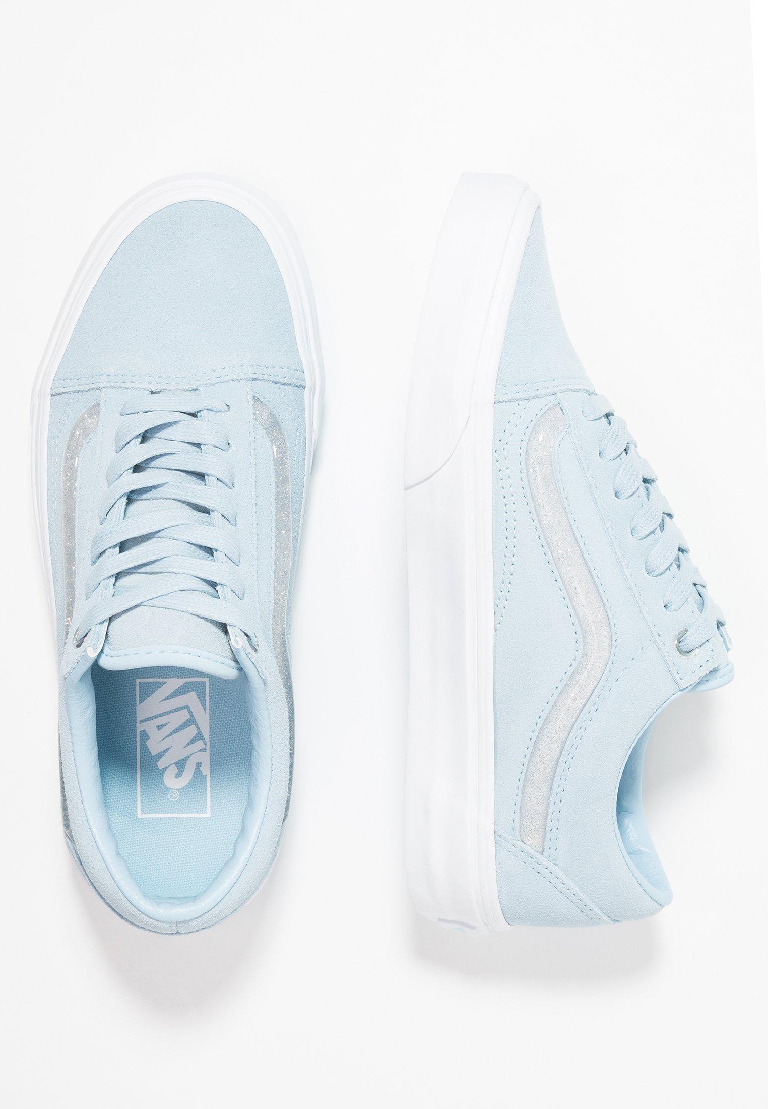 OLD SKOOL Sneaker low cool bluetrue white