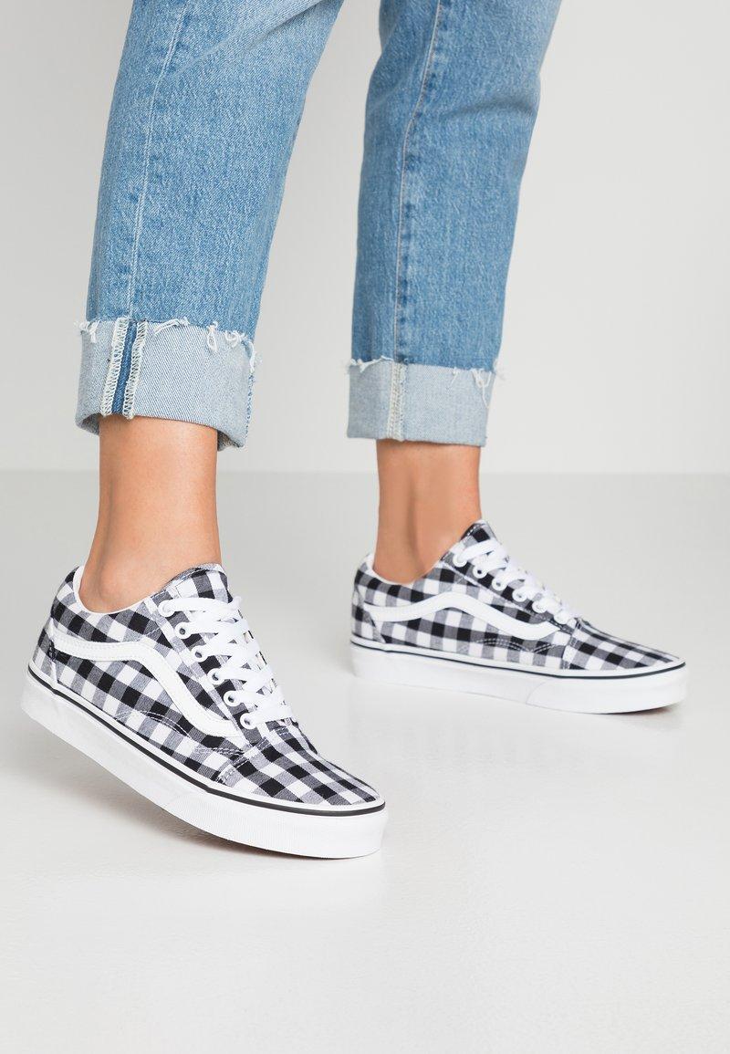 Vans - OLD SKOOL - Sneaker low - black/true white