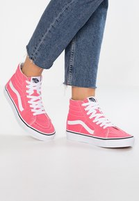 Vans - SK8 - Baskets montantes - strawberry pink/true white - 0