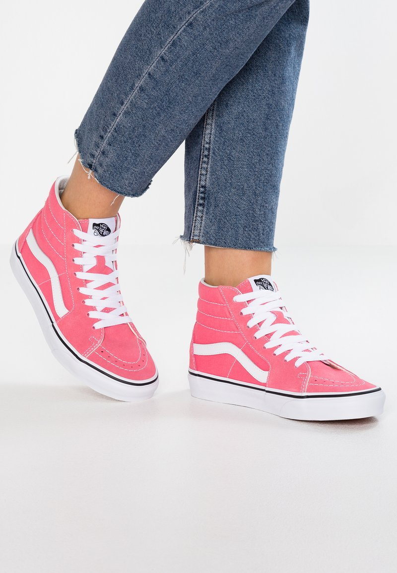 Vans - SK8 - Baskets montantes - strawberry pink/true white