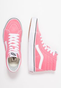 Vans - SK8 - Baskets montantes - strawberry pink/true white - 3