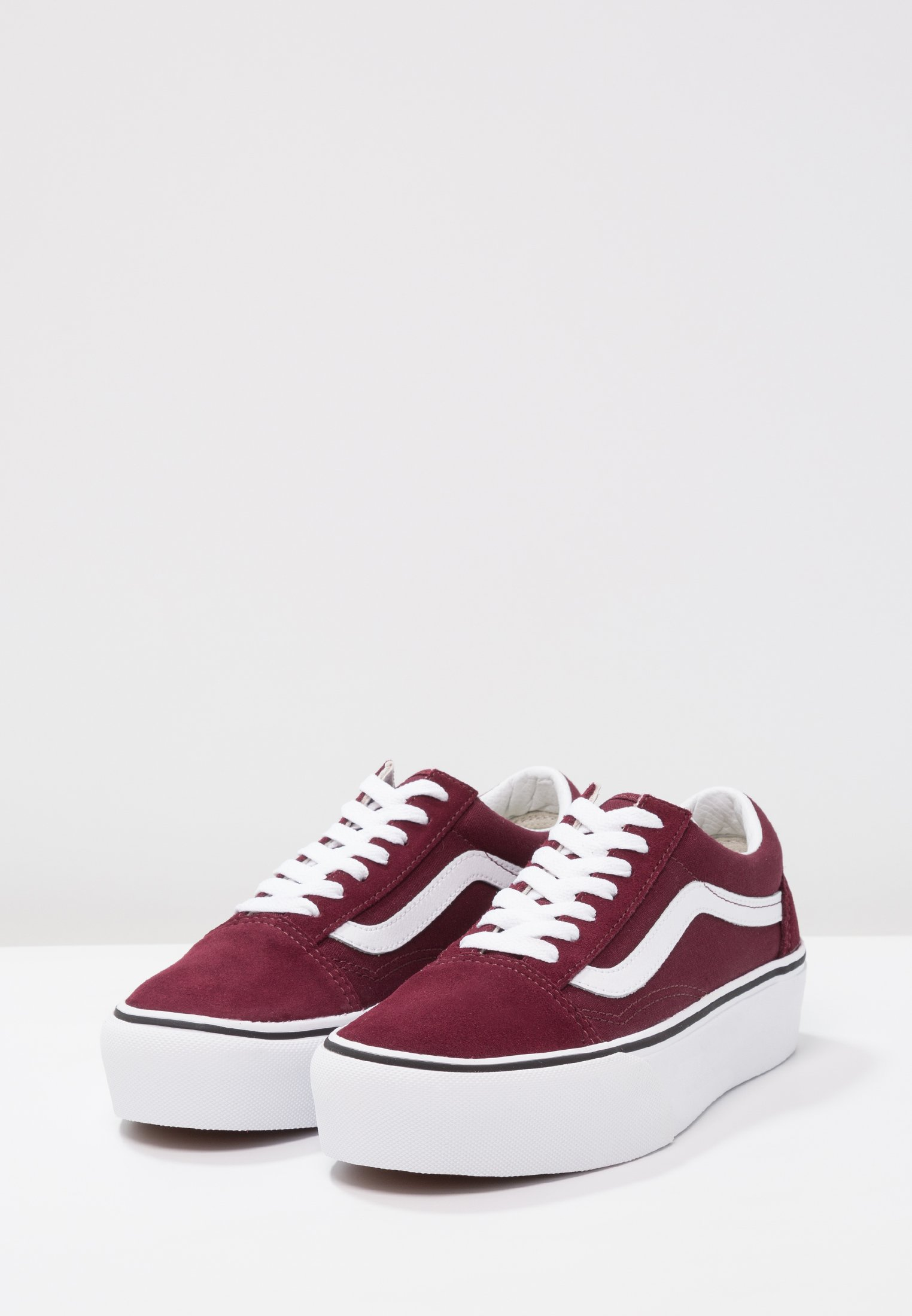 Vans OLD SKOOL PLATFORM - Sneakers - port royale/true white
