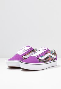Vans - COMFYCUSH OLD SKOOL - Joggesko - dewberry