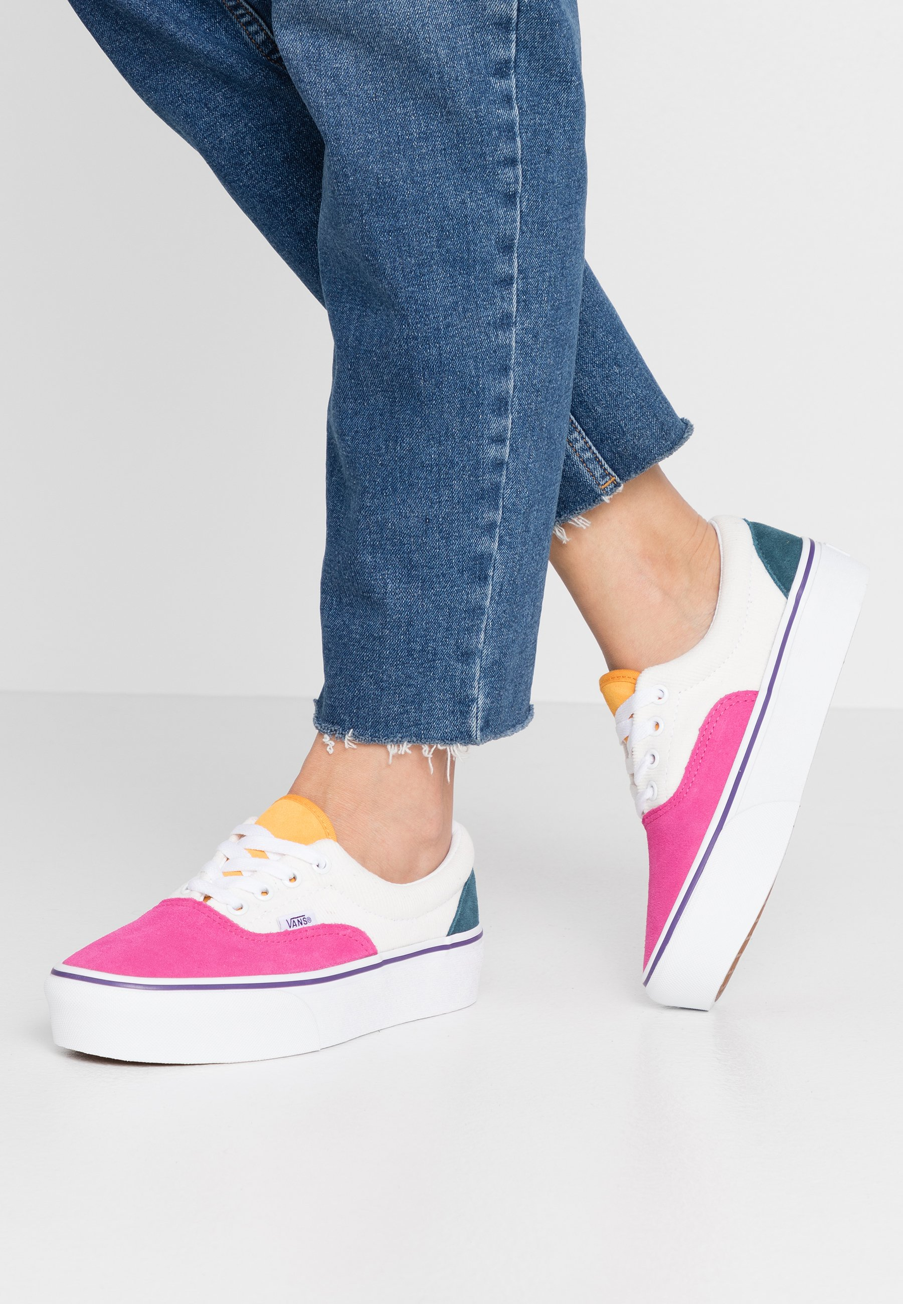 ERA PLATFORM Sneaker low multicolortrue white
