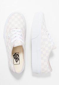 Vans - AUTHENTIC PLATFORM - Skate shoes - gray lilac/marshmallow/true white - 3