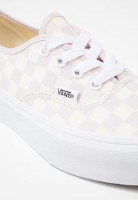 Vans - AUTHENTIC PLATFORM - Skate shoes - gray lilac/marshmallow/true white - 2