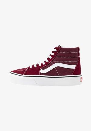 SK8 PLATFORM  - Sneakers hoog - burgundy/true white