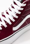 Vans - SK8 PLATFORM  - High-top trainers - burgundy/true white