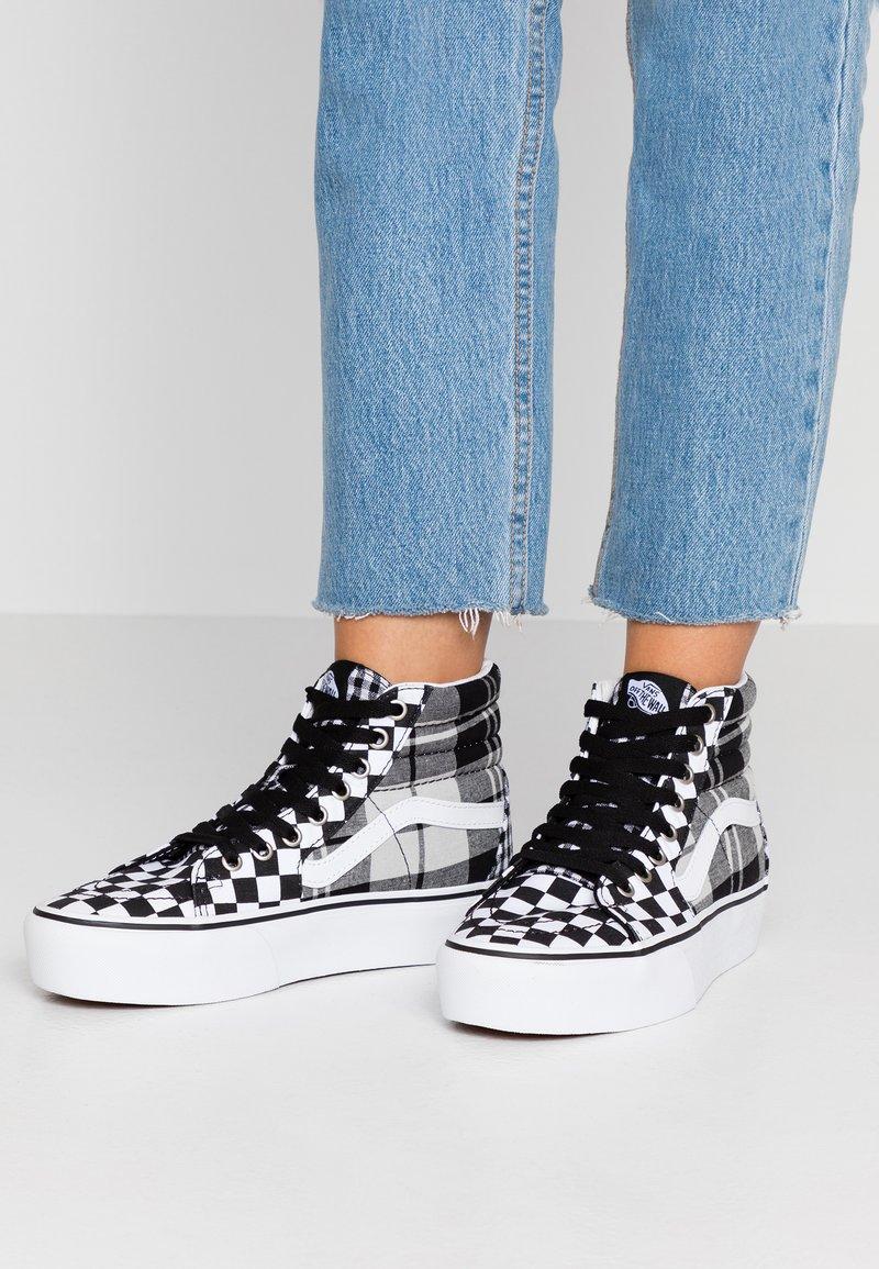 Vans - SK8 PLATFORM  - Sneaker high - black/true white