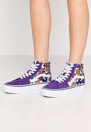 SK8 PLATFORM  - Sneakers alte - rainbow/true white