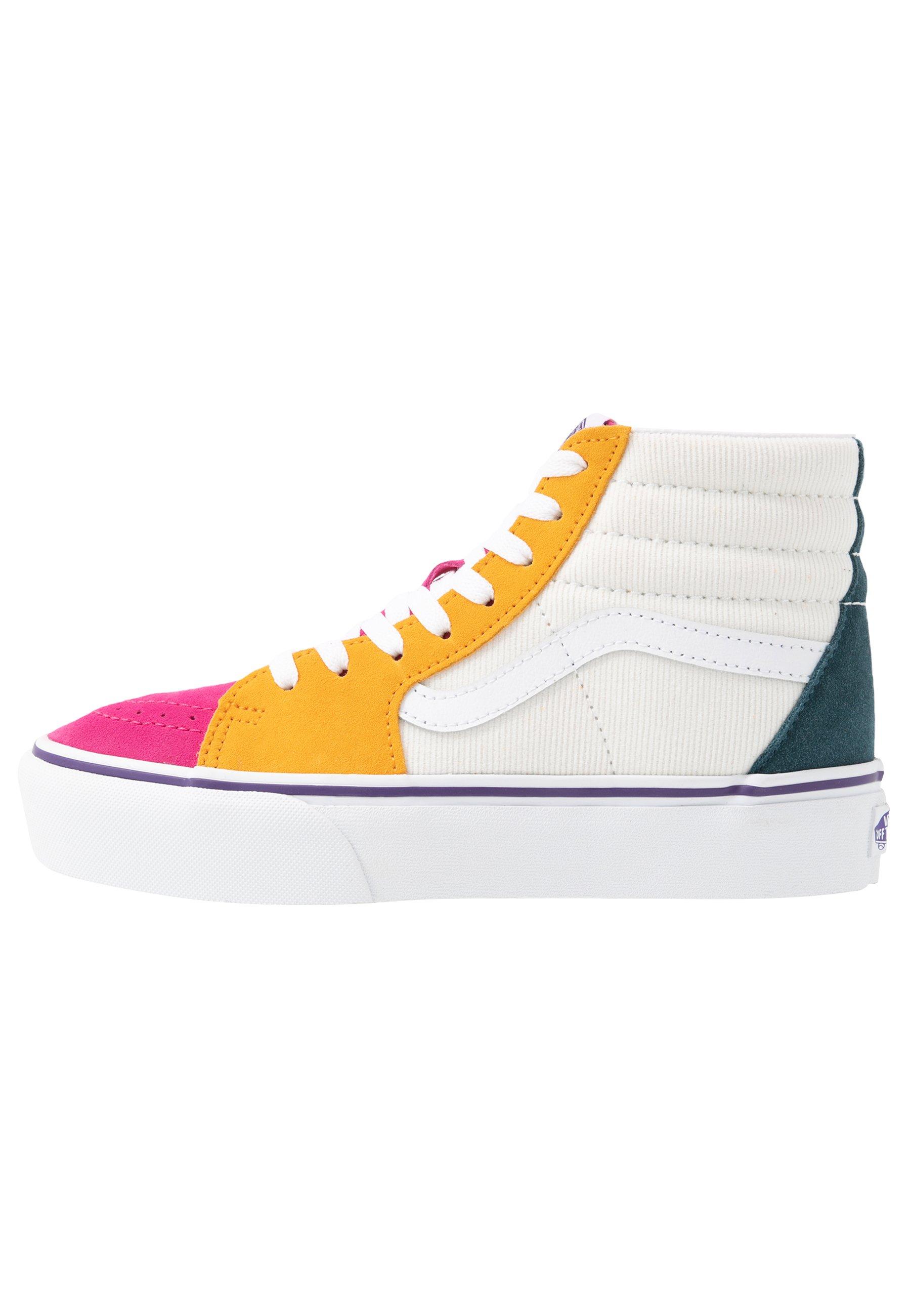 Vans SK8 PLATFORM  - Baskets montantes - multicolor/true white