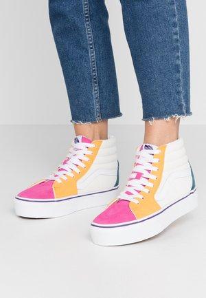 SK8 PLATFORM  - Sneakers hoog - multicolor/true white