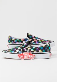 Vans - CLASSIC - Loaferit/pistokkaat - iridescent/black/true white - 7