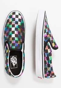 Vans - CLASSIC - Loaferit/pistokkaat - iridescent/black/true white - 3